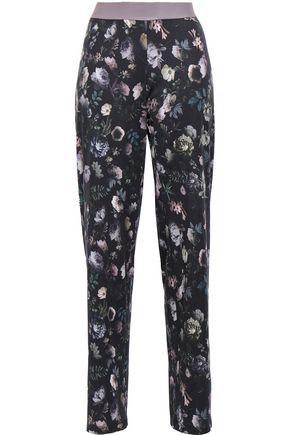 HANRO Floral-print cotton-jersey pajama pants