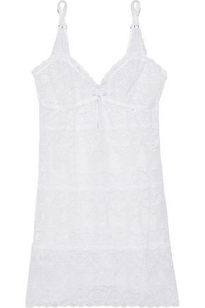 EBERJEY Leavers lace chemise