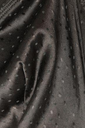 ERES Farniente Archange Swiss-dot silk-blend satin soft-cup triangle bra