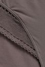ERES Peau d'Ange Legere mesh-trimmed stretch-jersey mid-rise briefs