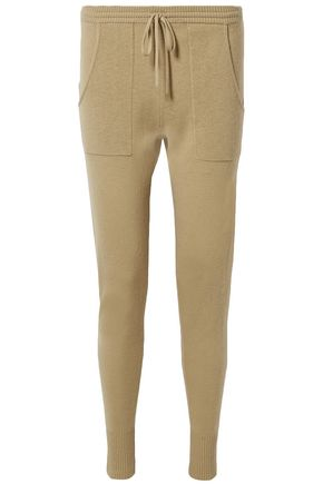 ERES Futile Astucieux wool and cashmere-blend track pants