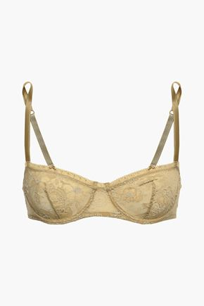 ERES Lace and satin balconette bra