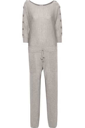 ERES Villa marled wool and cashmere-blend jumpsuit