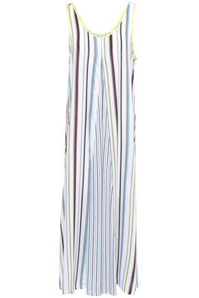 DKNY Striped mousseline nightdress