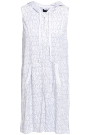 DKNY Printed terry nightdress