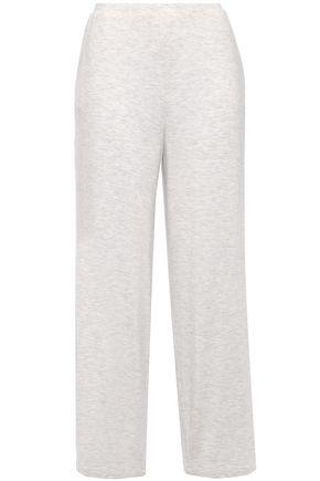 SKIN Lilian mélange stretch-jersey pajama pants