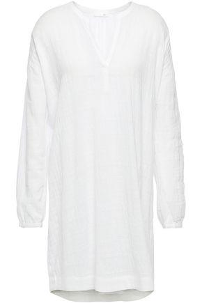 SKIN Nate cotton-blend gauze nightdress