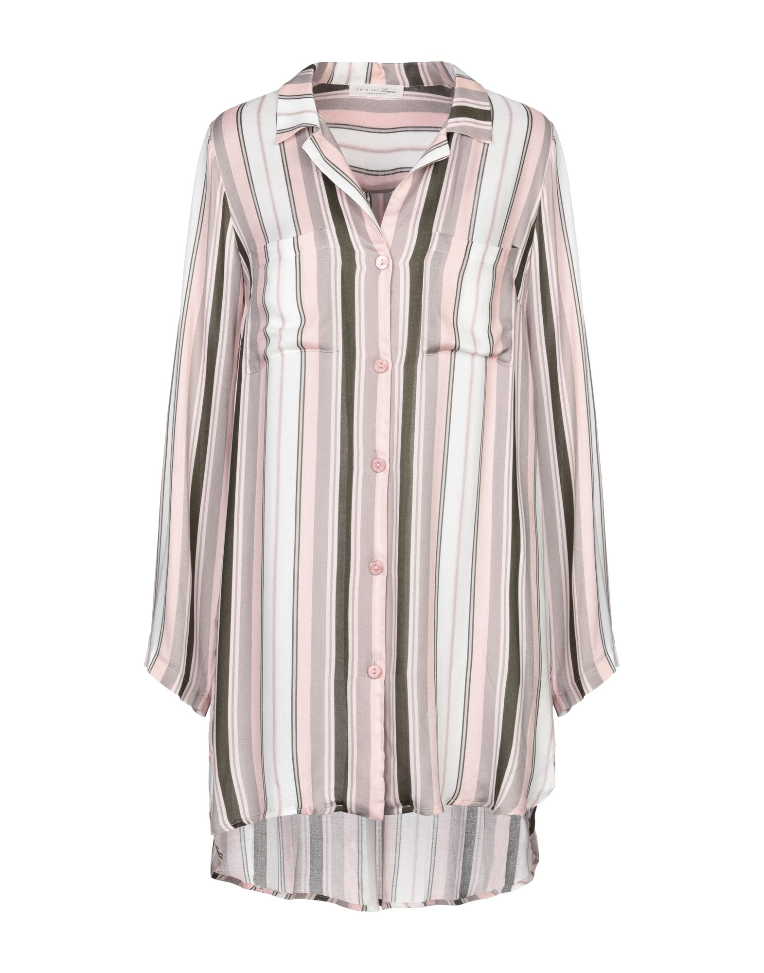 TWINSET UNDERWEAR Ночная рубашка рубашка ночная с макраме