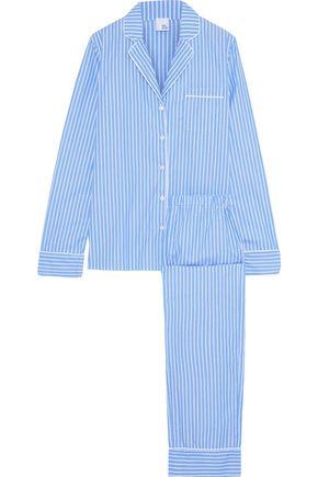 IRIS & INK Karly striped cotton pajama set