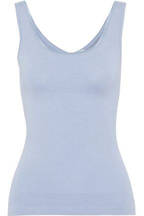 YUMMIE by HEATHER THOMSON Reversible stretch-jersey tank