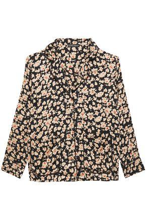 LOVE STORIES Floral-print mousseline pajama top