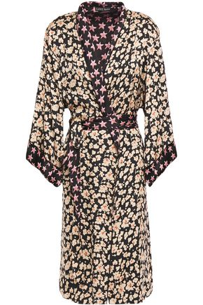 LOVE STORIES Jolie floral-print satin robe