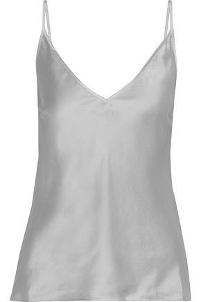 """IRIS & INK قميص تحتي """"ليلى"""" من الساتان الحريري"""