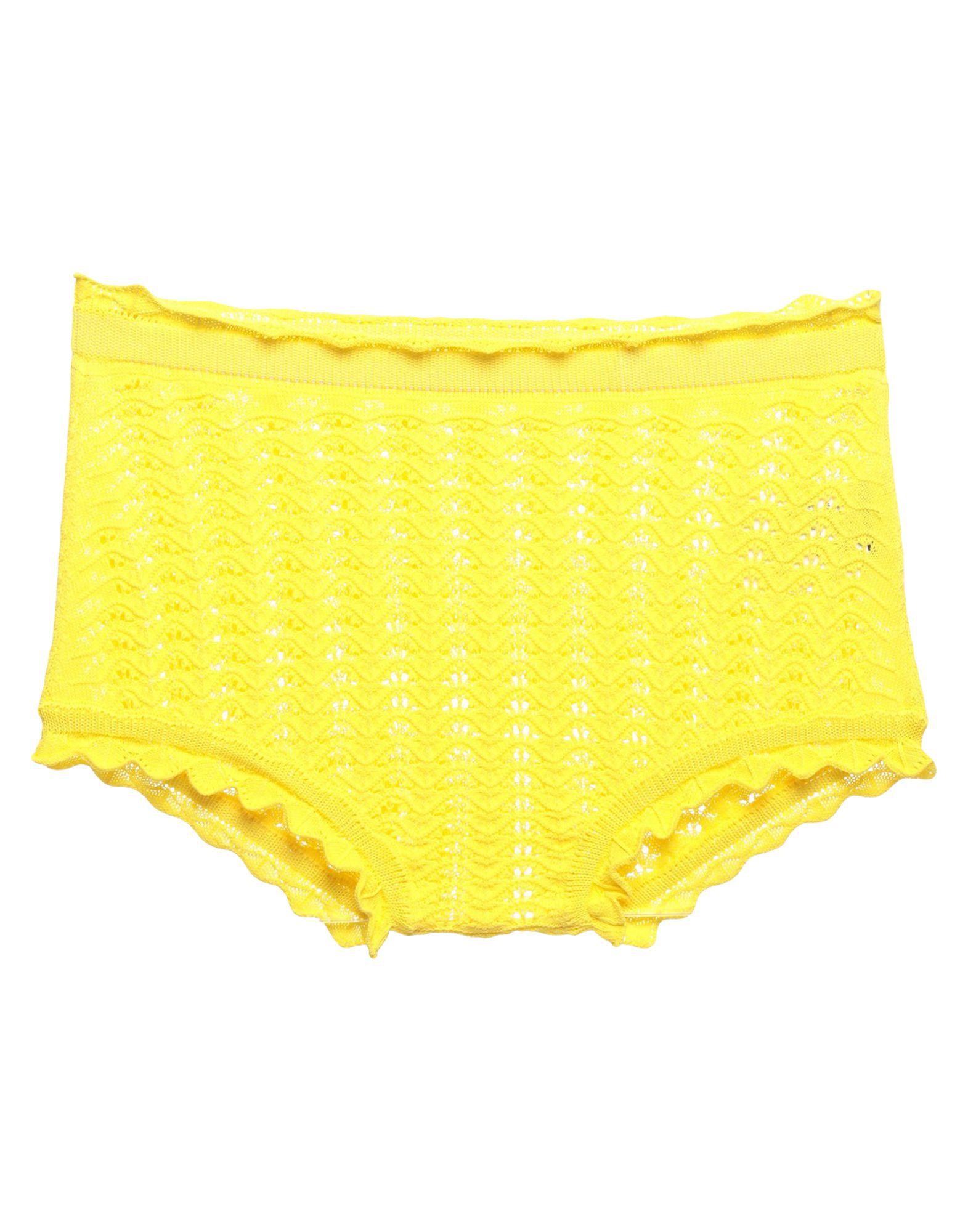 JIL SANDER Boyshorts. knitted, no appliqués, lightweight sweater, basic solid color, elasticized waist. 100% Cotton