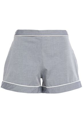 ELSE Victoria cotton-blend pajama shorts