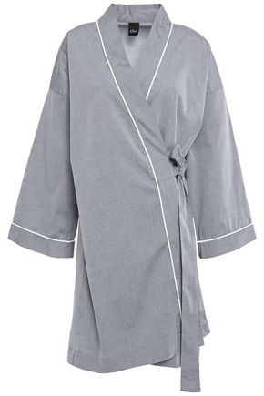 ELSE Victoria cotton-blend robe