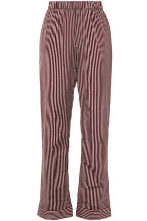 ELSE Dixie striped cotton-blend pajama pants