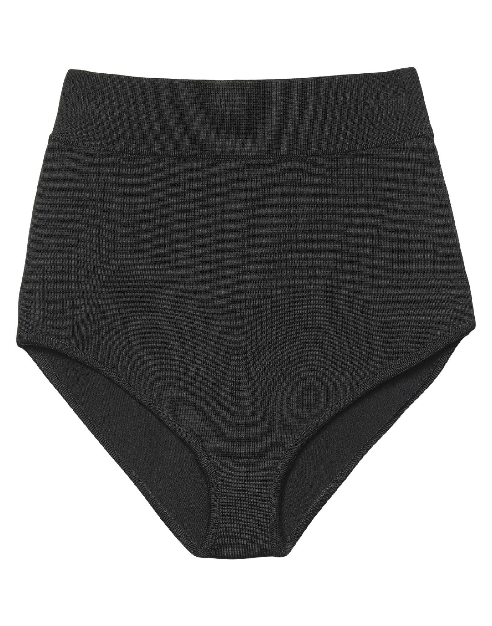 BALMAIN Boyshorts. knitted, no appliqués, lightweight knit, basic solid color, stretch. 83% Viscose, 15% Polyamide, 2% Elastane