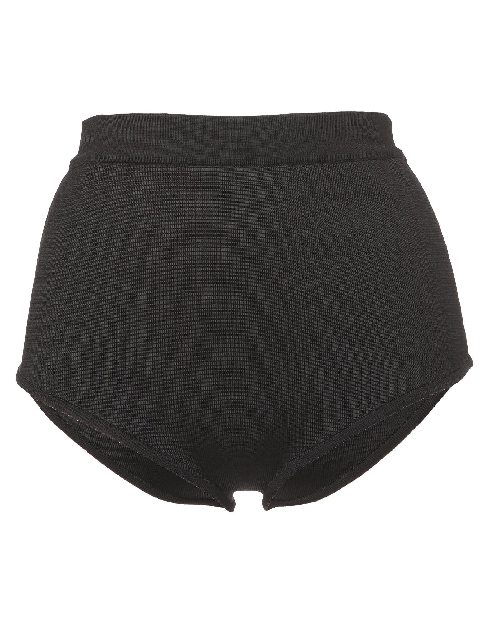 BALMAIN Boyshorts. jersey, no appliqués, basic solid color, no fastening, unlined. 90% Viscose, 9% Polyamide, 1% Elastane