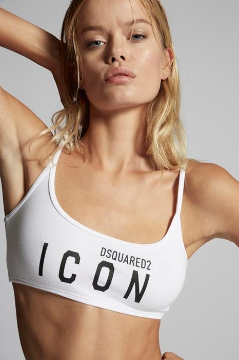 Soutien-gorge bandeau Taille 36 80% Coton 20% Élasthanne - Dsquared2 - Modalova