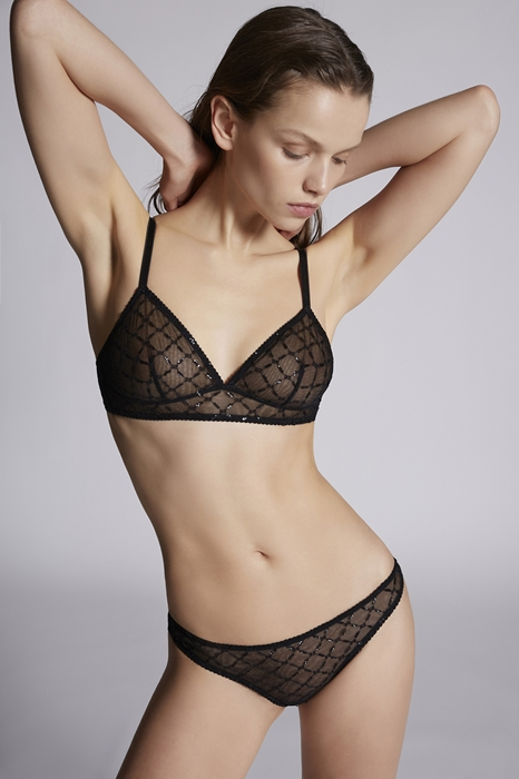 Soutien-gorge triangle Taille 36 89% Polyamide 11% Élasthanne - Dsquared2 - Modalova