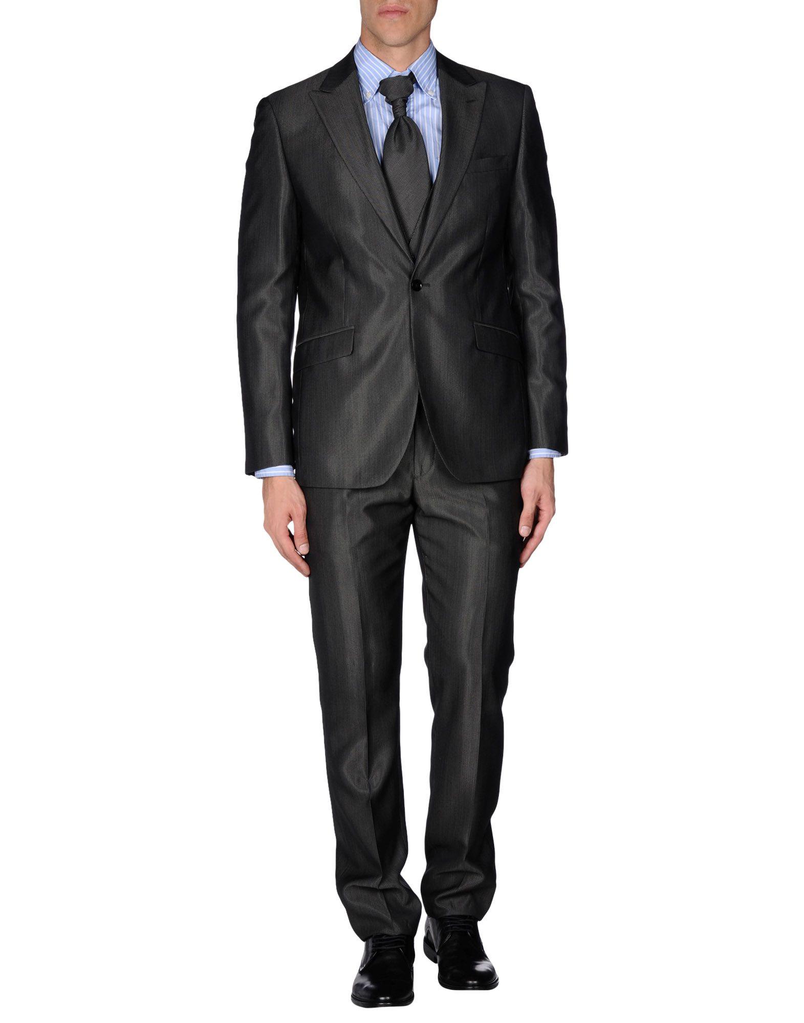 メンズ RDG スーツ スチールグレー