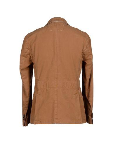 Фото 2 - Мужской пиджак MONTEDORO RED цвета хаки
