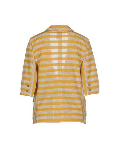 Фото 2 - Женский пиджак BARK желтого цвета