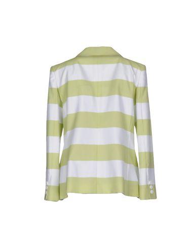 Фото 2 - Женский пиджак  кислотно-зеленого цвета