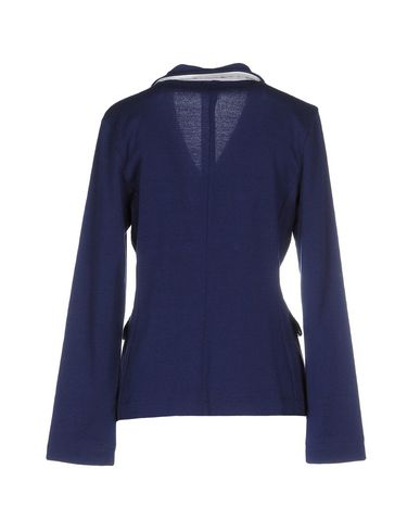 Фото 2 - Женский пиджак ...À_LA_FOIS... темно-синего цвета