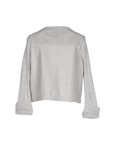 Фото 2 - Женский пиджак BARK светло-серого цвета