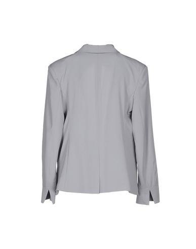 Фото 2 - Женский пиджак MAESTA светло-серого цвета
