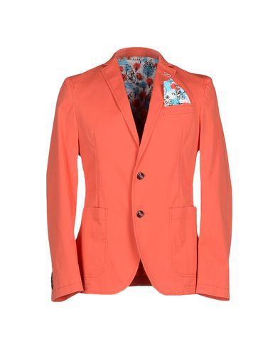 Фото - Мужской пиджак  оранжевого цвета