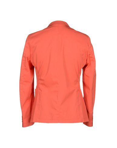 Фото 2 - Мужской пиджак  оранжевого цвета