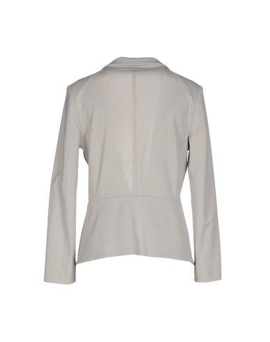 Фото 2 - Женский пиджак  светло-серого цвета