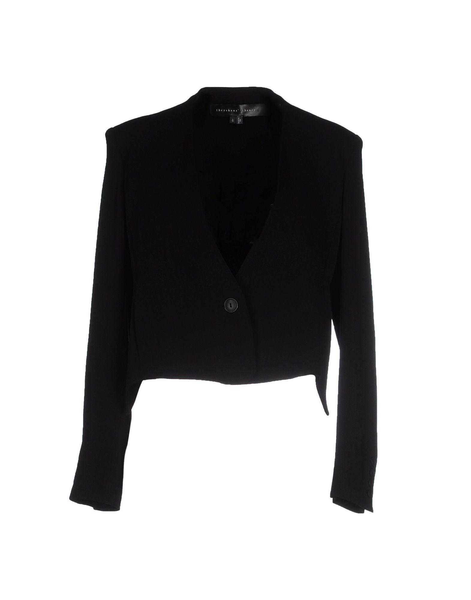 THEYSKENS' THEORY Blazer in Black