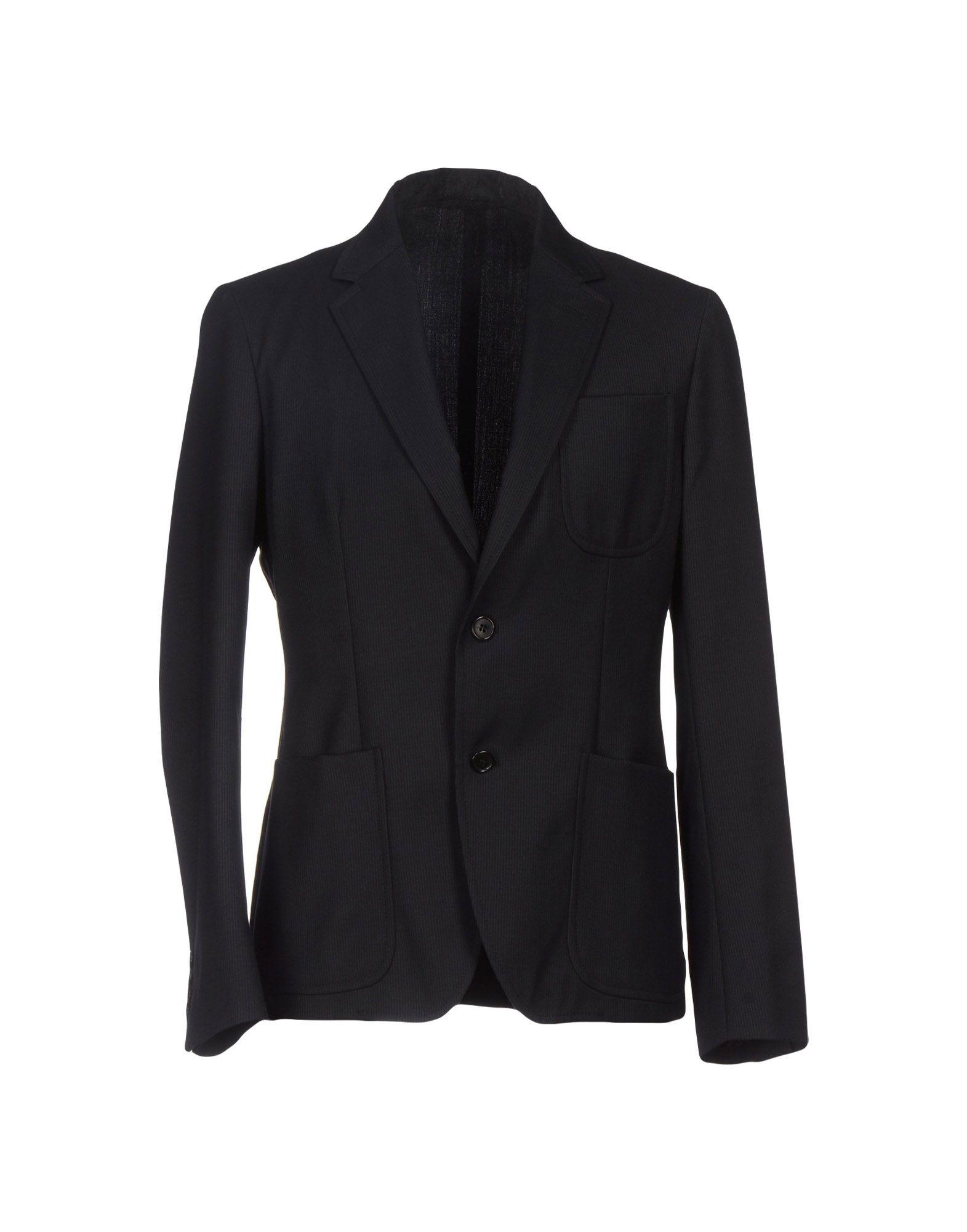 《送料無料》MM by MARIOMATTEO メンズ テーラードジャケット ブラック 50 ウール 98% / ポリウレタン 2%