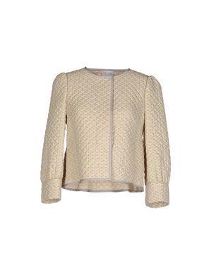 REDValentino Damen Jackett Farbe Beige Größe 3 Sale Angebote Terpe