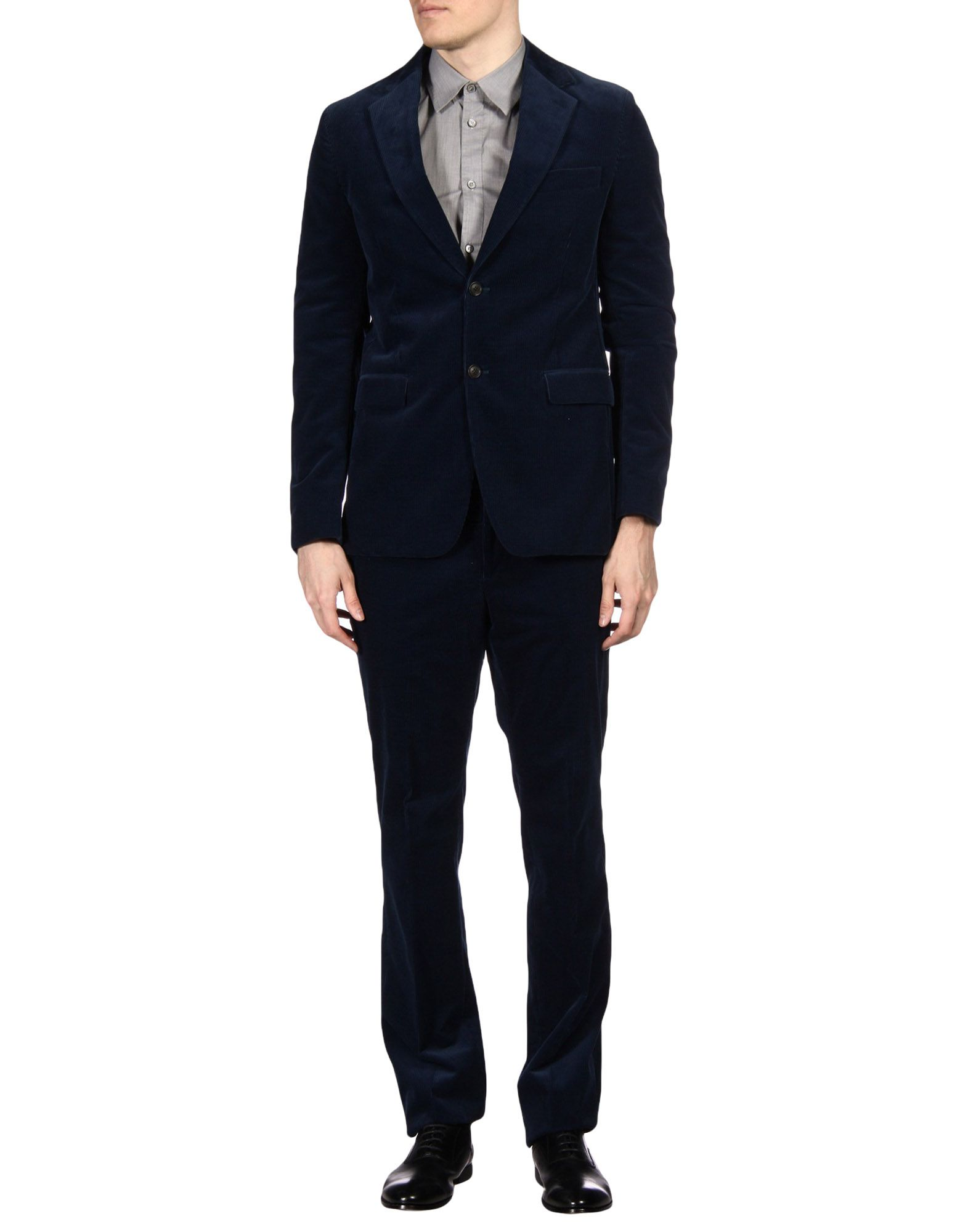 FAÇONNABLE Suits in Dark Blue