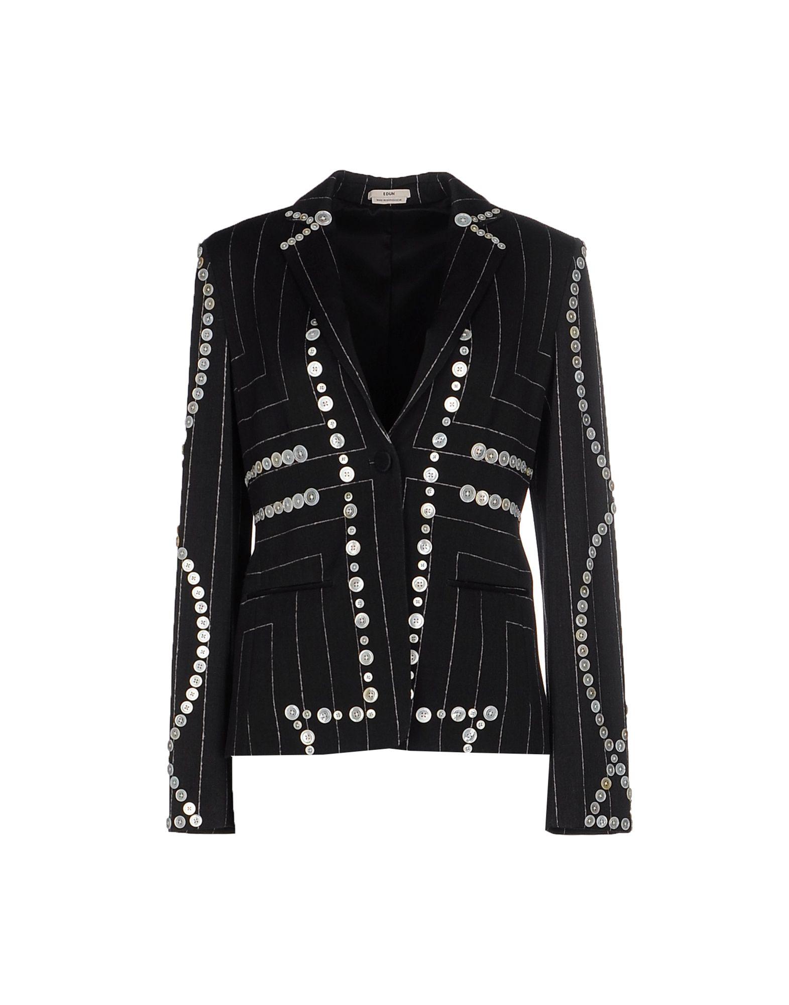 EDUN Пиджак шерстяной пиджак мужской купить в москве