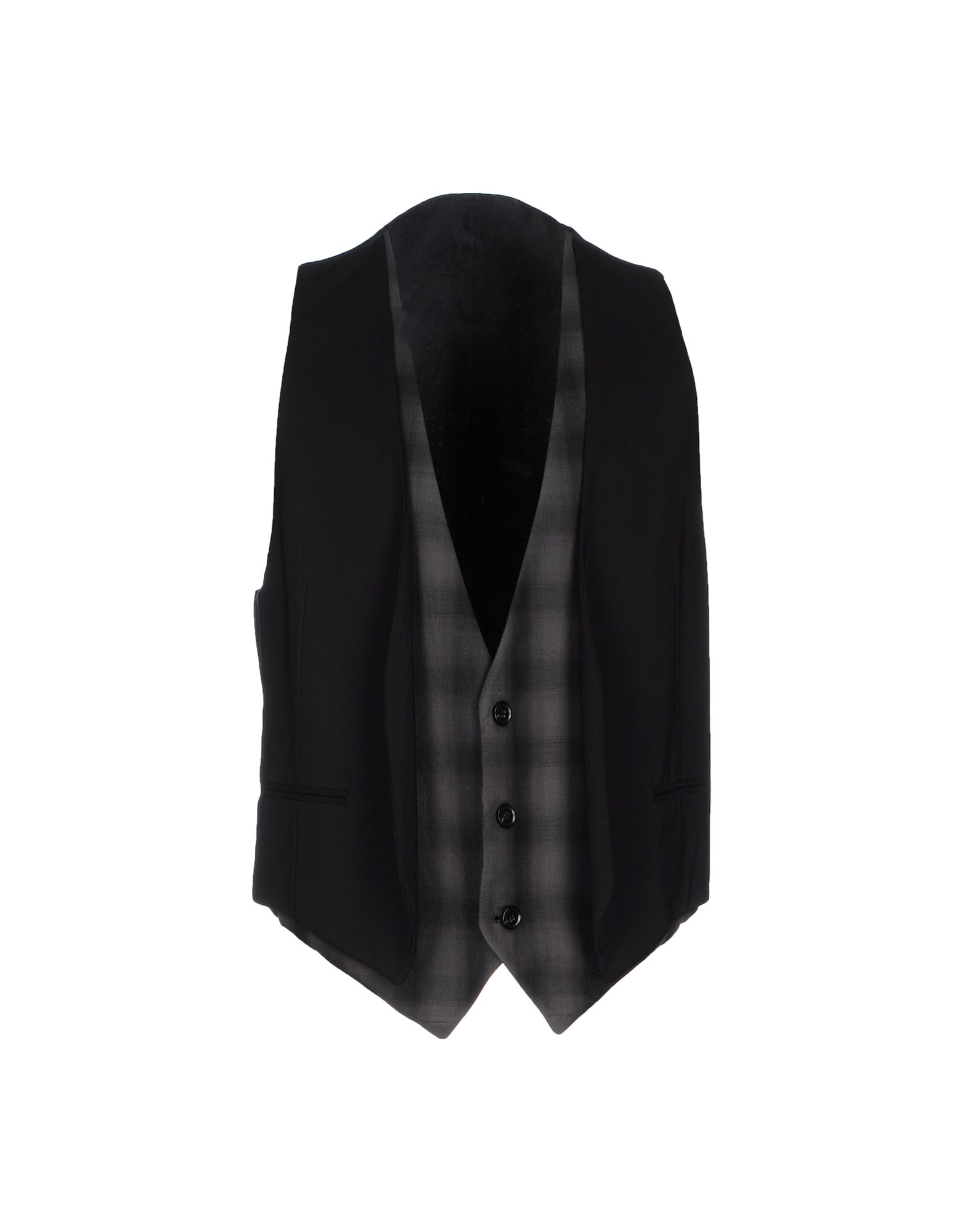 RING Suit Vest in Black