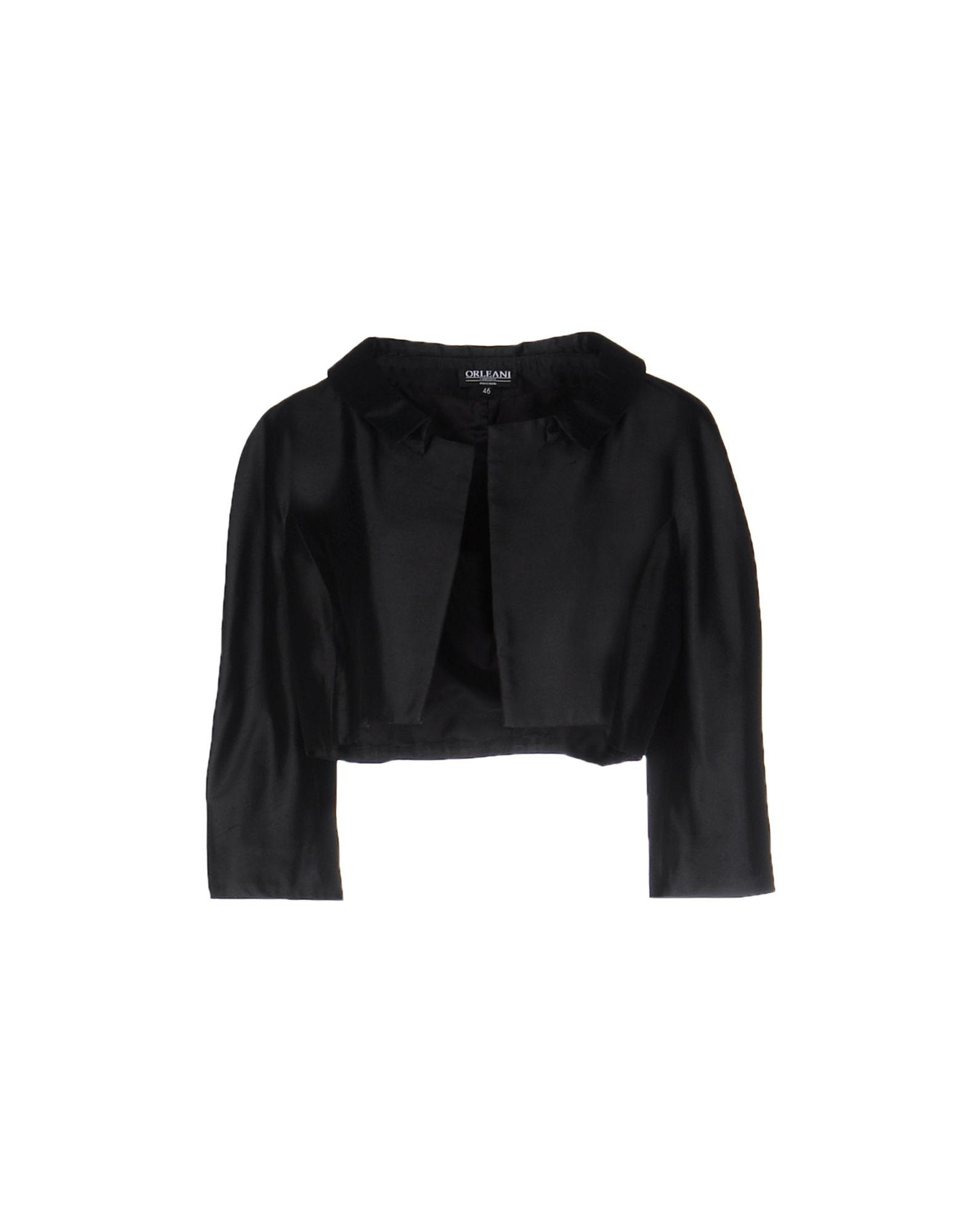 レディース ORLEANI テーラードジャケット ブラック