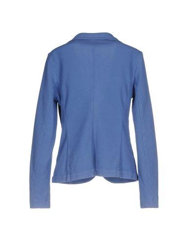 Фото 2 - Женский пиджак CAPOBIANCO синего цвета