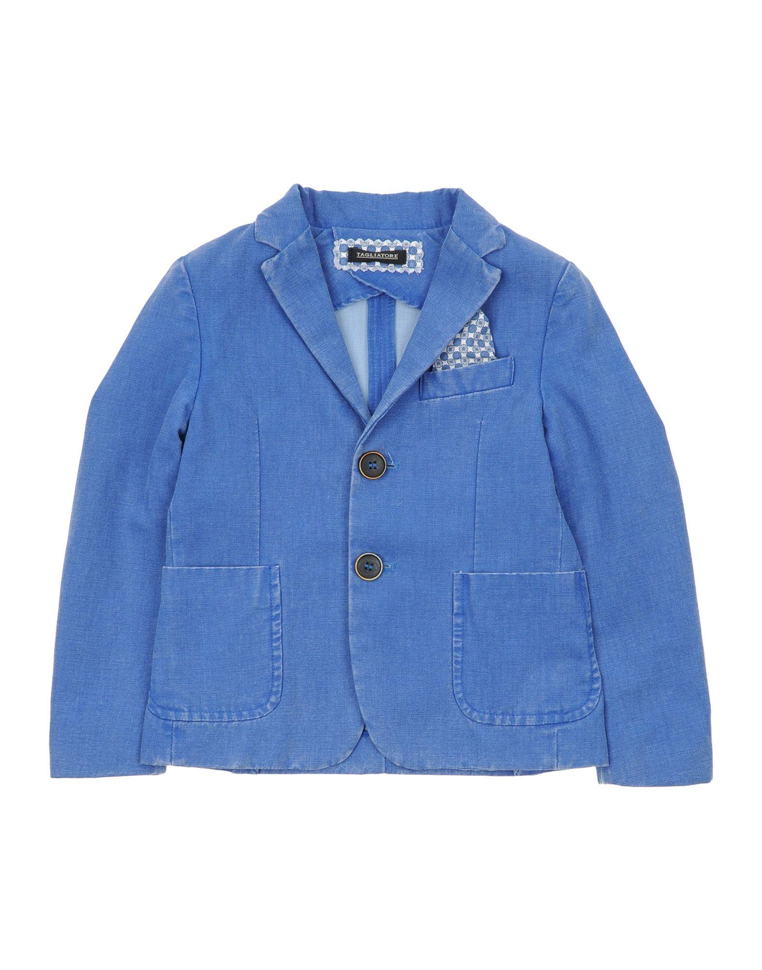 TAGLIATORE テーラードジャケット ブルー