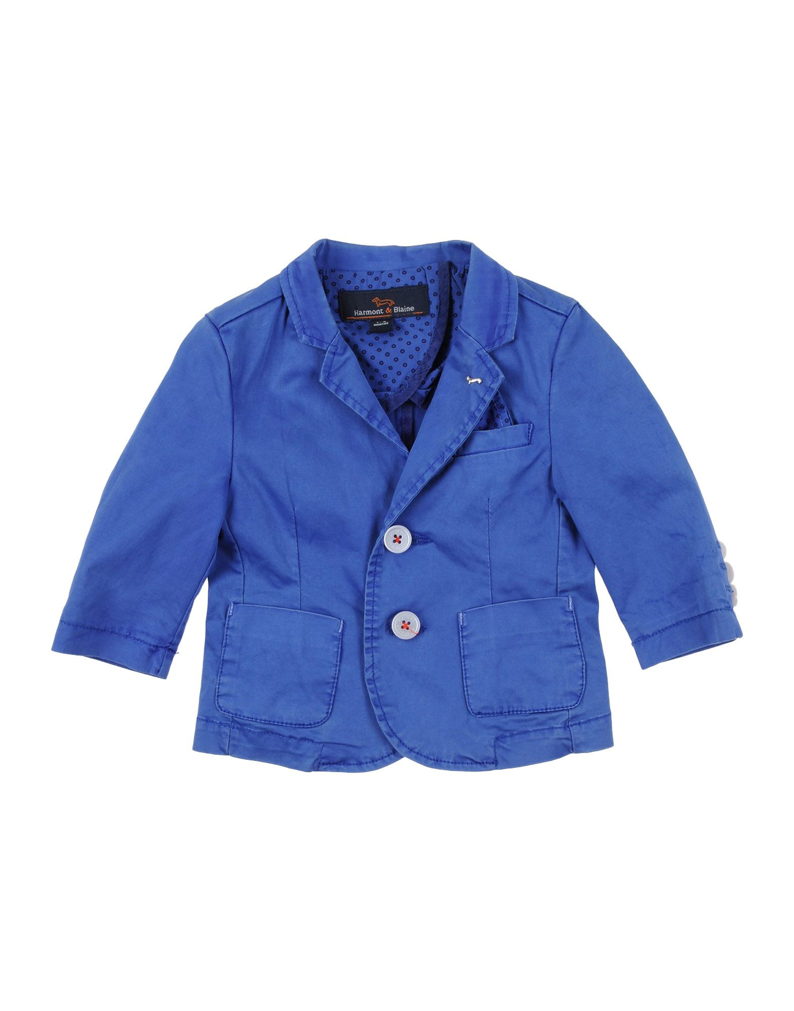 HARMONT&BLAINE Jungen 0-24 monate Jackett Farbe Taubenblau Größe 6