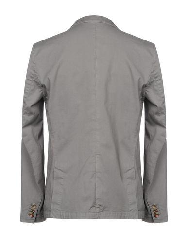 Фото 2 - Мужской пиджак SUN 68 серого цвета