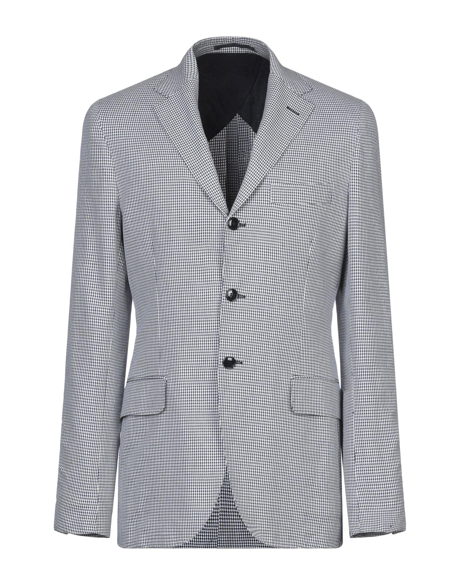《セール開催中》MP MASSIMO PIOMBO メンズ テーラードジャケット ダークブルー 46 コットン 60% / 麻 40%