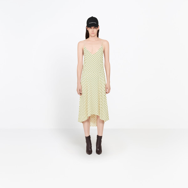 Fluid Kick Slip Dress