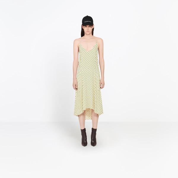 Fluid Kick Slip Dress