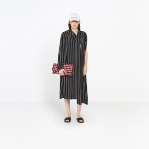 BALENCIAGA Dress D Draped Dress f